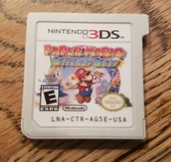 Paper Mario Sticker Star 2DS 3DS Nintendo 2012 Cartridge Only works great $10.99