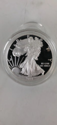 2021 Proof Silver Eagle in Original Government Packaging $120.00