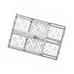 Pet Gate Dog Fence Safety Baby Folding Guard Indoor Mesh Portable Net Door Free $29.95