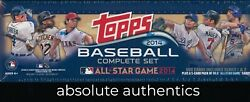 2014 Topps Baseball Card Complete Factory Sealed All Star Set $239.99