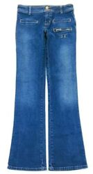 Guess USA Womens Low Rise Flare Jeans Size 24 $14.50