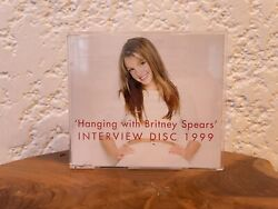 Hanging With Britney Spears 1999 Interview Disc CD Promo $79.99