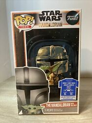 Funko Pop Tees Star Wars The Mandalorian with The Child T Shirt XL New Sealed $25.00