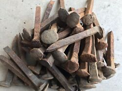 """75 Old Rusty Railroad Spikes 6.5"""" $40.00"""
