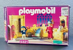 PLAYMOBIL VINTAGE 5321 Master BEDROOM for Victorian Mansion 5300 **BOX ONLY ** $39.95