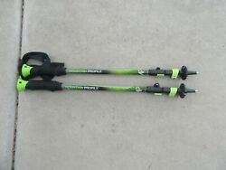 Set of Yukon Charlies Mountain Profile Trekking Poles 100 135CM $21.99