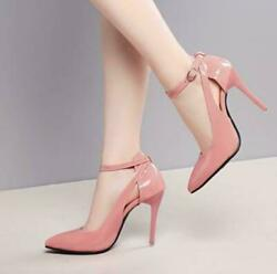 Sexy Womens Pumps Sandals Pointy Toe High Stiletto Heels Ankle Strap party Shoes $45.99