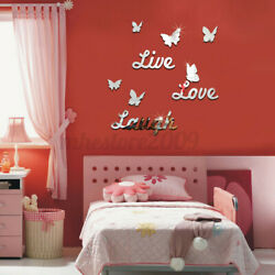 10pcs 3D Butterfly Wall Stickers Decal Art DIY Decoration Home Wall Girl $7.61