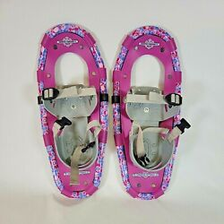 Kids Snowshoes LL Bean Winter Walker Youth Size 16 Pink Kids Winter Snow Shoes $39.99