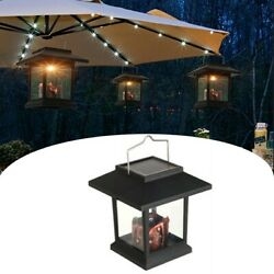 Waterproof LED Solar Powered Hanging Lantern Outdoor Candle Garden Table Lamp $12.05