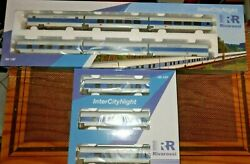 Rivarossi Intercitynight DB Ag Livery White Blue Celeste Compost For 9 Coaches $453.13