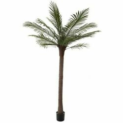 Tall 78 Inch PalmTree Faux Artificial Plant Indoor Outdoor Large Realistic $138.99