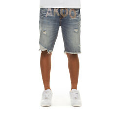 Akoo Clothing for Men#x27;s Trapper Jean Short for Fashion Beach Workout Comfy $94.00