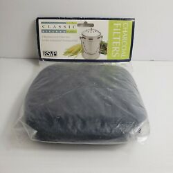 R.S.V.P. Classic Kitchen Basics 2 Replacement Charcoal Filters Compost Pail $7.00