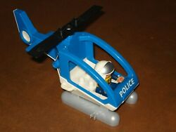 LEGO DUPLO 2003 Police Helicopter with Police Pilot Mini Figure from Set #4965 $21.99