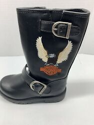 HARLEY BOOTS YOUTH FULL THOTTLE BOOT SIZE 9 $40.00