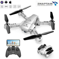 SNAPTAIN A10 WiFi Foldable RC Drone 720P HD Camera FPV Quadcopter Voice Control $29.99