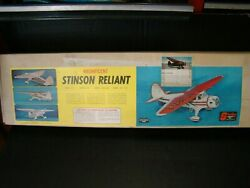 New Stinson Reliant vintage rc model airplane kit By Sterling Models NC 18713 $350.00