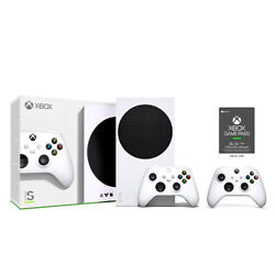 Xbox Series S Console Extra Controller Game Pass Ultimate 3 Month Email $379.99
