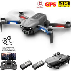 4DRC F9 PRO GPS RC Drone Camera 4K 5G Wifi Brushless Quadcopter 2 Battery USA $124.00