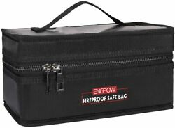 Lipo Battery Safe Bag Fireproof Explosion Proof RC Charger Storage Carry Case $20.49