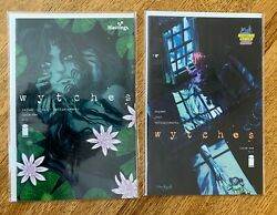 WYTCHES 1 MIDTOWN and HASTINGS EXCLUSIVE VARIANTs #1 RARE $34.99