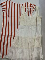 Lot of 2 Cute Summer Dresses Size Small Excellent Condition $13.13