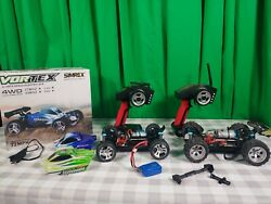 2 Wltoys A959 2.4G 1 18 Vortex 4WD Electric RC Car Off Road Buggy RTR Green USA $129.99