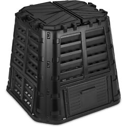 Garden Composter Bin Made from Recycled Plastic 110 Gallon 420 Liter $88.99