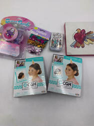 GIRLS DECORATIONS AND ACCESSORIES BUNDLE OF GREAT GIRLY ITEMS $7.20