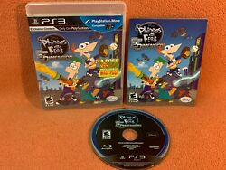 Phineas amp; Ferb 2nd Dimension Sony PlayStation 3 PS3 Game Complete $10.97