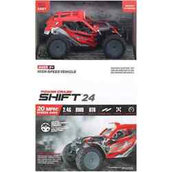 Power Craze Shift 24 Mini RC High Speed Buggy Red $16.99