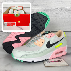 Nike Air Max 90 Easter Women#x27;s Size 6.5 White Pink Volt CZ1617 100 No Lid $119.97