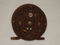 Vintage Fly Fishing Reel Rusted Unknown Maker $19.95