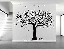 WALL TREE FAMILY PHOTO FRAME HOME STICKER DECALS DECOR DECAL STICKERS DIY ROOM $45.95