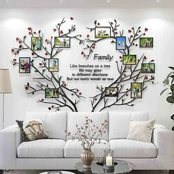 WALL TREE FAMILY PHOTO FRAME HOME STICKER DECALS DECOR DECAL STICKERS DIY ROOM 2 $33.98
