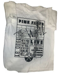 Pink Floyd quot;The Wallquot; Boys Tshirt Medium New Without Tags $14.99