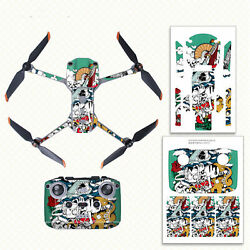 1 Pair PVC Stickers Drone Body RC Protective Stickers Set for Mavic Air 2S Drone $13.50