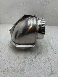 Sears 182108 4quot; Dryer Vent Close Elbow Clearance Elbow $18.99