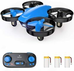 SNAPTAIN SP350 Drone for Kids Beginners Portable RC Quadcopter with 3 Batteries $15.99