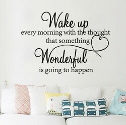 Wall Sticker Quotes Wonderful Home Decor Motivational Removable Vinyl Decal Art $5.29