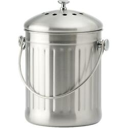 4.5L Stainless Steel Kitchen Composter with Filter C $47.64