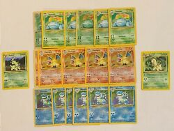 1st Edition Old Pokemon Cards Lot 100% Vintage ONLY WOTC $17.95