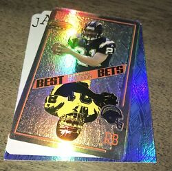 2001 Bowman's Best #BB5 LaDainian Tomlinson Best Bets Die Cuts RC Chargers $7.99