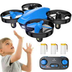 SNAPTAIN RC Drone Mini Quadcopter Altitude Hold 2.4Ghz 360°Flips for Kids Yellow $15.99