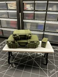 1 10 scale rc accessories army military ammo storage cases $25.00