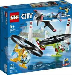 LEGO 60260 City Air Race Flying Helicopter Toy 140 Pieces $51.96