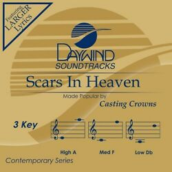 Casting Crowns Scars In Heaven Accompaniment Performance Track New $8.99