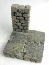 Damp;D Warhammer Dwarven Forge Castle Dungeon Small Wall Scenery Resin Miniature $9.99