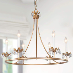 """LOG BARN Chandeliers for Dining Rooms 29.5"""" Large Round Contemporary Modern for $277.80"""